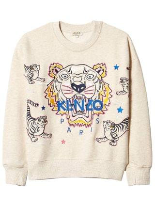KIDS Kenzo Kids - Iconic Tiger Sweatshirt (Big Kids)