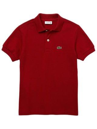 KIDS Lacoste Kids - L1812 Short Sleeve Classic Pique Polo (Toddler/Little Kids/Big Kids)