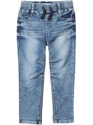 KIDS PEEK - Henry Pull-On Knit Denim Pants (Toddler/Little Kids/Big Kids)