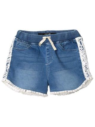 KIDS Joe's Jeans Kids - Jogger Shorts w/ Crochet Hem (Big Kids)
