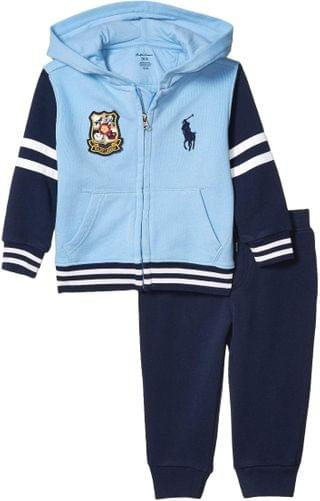 KIDS Polo Ralph Lauren Kids - French Terry Hoodie & Pants Set (Infant)