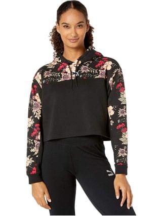 WOMEN PUMA - Trend All Over Print Hoodie