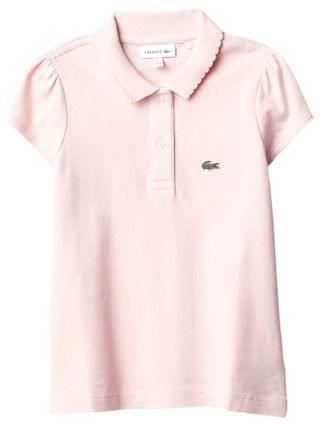 KIDS Lacoste Kids - Short Sleeve Mini Pique New Iconic Polo (Infant/Toddler/Little Kids/Big Kids)