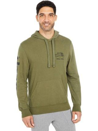 MEN Lucky Brand - Jeep Mineral Wash French Terry Hooded Sweatshirt