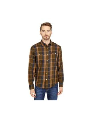 MEN Lucky Brand - Long Sleeve Mateo Twill Humboldt Workwear Shirt