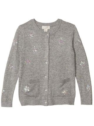 KIDS PEEK - Dakota Sequin Stars Cardigan (Toddler/Little Kids/Big Kids)
