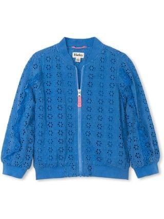 KIDS Hatley Kids - Sky Blue Bomber Jacket (Toddler/Little Kids/Big Kids)