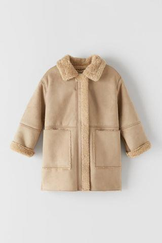KIDS DOUBLE FACED COAT