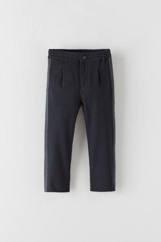 KIDS JOGGER CHINO TROUSERS WITH SIDE STRIPES