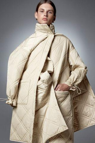 WOMEN LIMITED EDITION QUILTED COAT