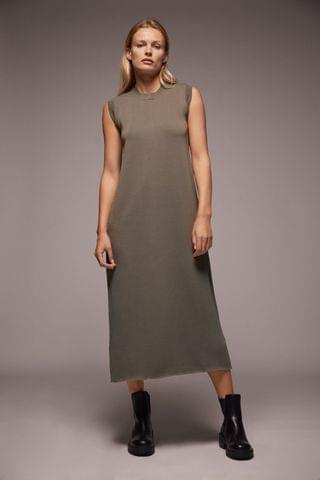 WOMEN LONG KNIT DRESS