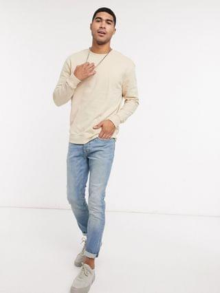 New Look relaxed sweat in stone