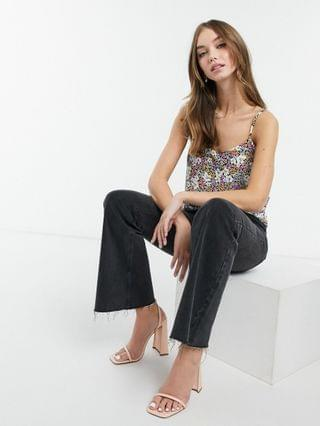 WOMEN Style Cheat cami top co-ord in floral print