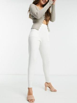 WOMEN Fashion Union knitted sweatpants set