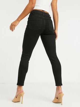WOMEN New Look Petite skinny jean in black