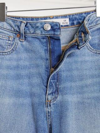 WOMEN Tall hourglass' farleigh' slim mom jeans in authentic midwash