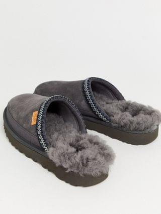 UGG tasman slip-on scuffs in gray