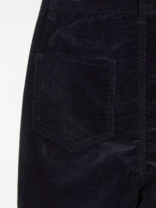 WOMEN Tall high rise 'sassy' cigarette jeans with split front in cord