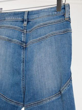 WOMEN Tall hourglass 'lift and contour' skinny jeans in midwash