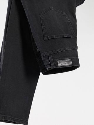 WOMEN Only Tall Veneda mom jeans in washed black