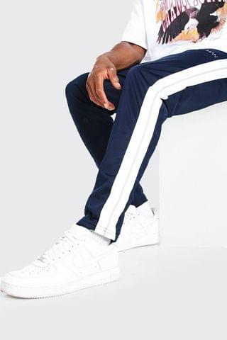 MEN Original MAN Skinny Tricot Jogger With Tape