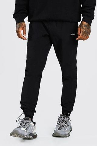MEN Original MAN Crinkle Bungee Cord Jogger Trouser