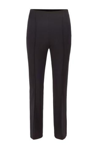 WOMEN Cropped slim-fit pants in stretch twill
