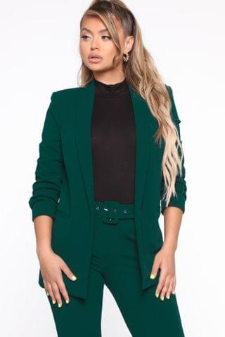 WOMEN The Celine Blazer - Hunter