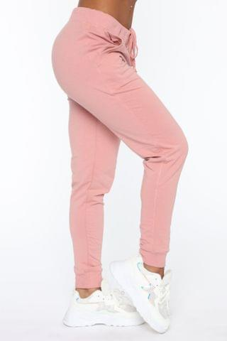 WOMEN Latest And Greatest French Terry Jogger - Mauve