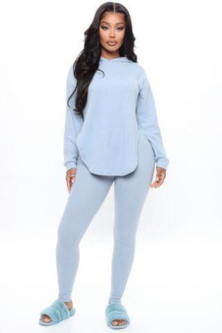 WOMEN Cutting Corners Legging Set - Blue