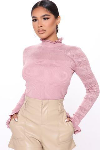 WOMEN Latest Addiction Sweater - Rose