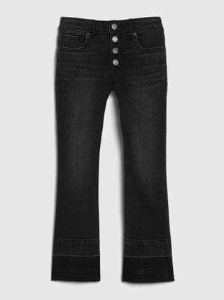 KIDS Kids High-Rise Flare Cropped Jeans