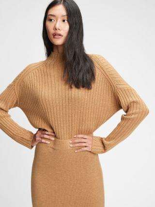WOMEN Merino Mockneck Sweater