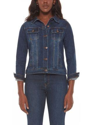 WOMEN Plus Size Denim Jacket
