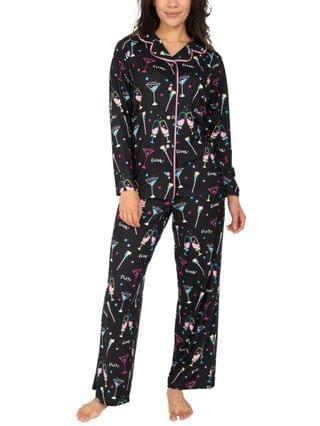 WOMEN New Year's Party Pajama Set