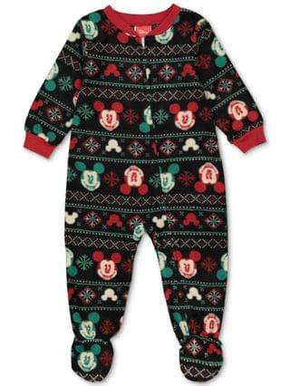 WOMEN Matching Baby Holiday Mickey & Minnie Family Pajama Set