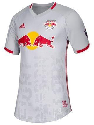 MEN adidas New York Red Bulls Men's Primary Authentic Jersey