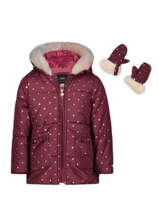 KIDS Little Girls Fashion Heavyweight Jacket