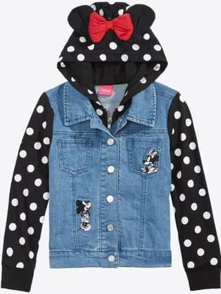 KIDS Little Girls Layered-Look Denim Jacket