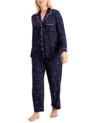 WOMEN Plus Size Ultra-Soft Pajama Set, Created for Macy's