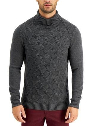 MEN Chunky Turtleneck Sweater, Created for Macy's