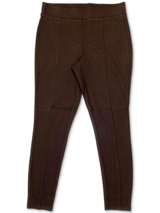 WOMEN Plus Size Seamed Pont -Knit Leggings, Created for Macy's