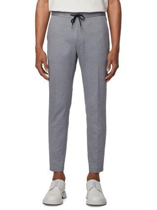 MEN BOSS Men's Banks Slim-Fit Trousers