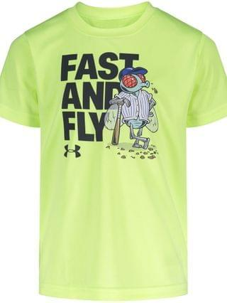 KIDS Toddler Boys Fast And Fly Short Sleeves T-shirt