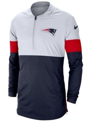 MEN Men's New England Patriots Lightweight Coaches Jacket