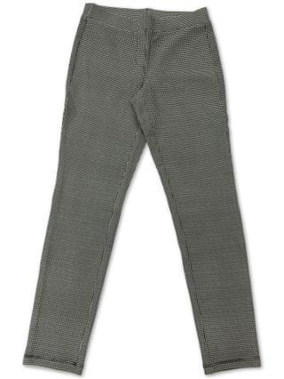 WOMEN Houndstooth-Print Pull-On Pants, Created for Macy's