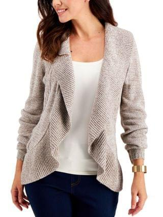 WOMEN Plus Size Cocoon Open-Front Cardigan, Created for Macy's