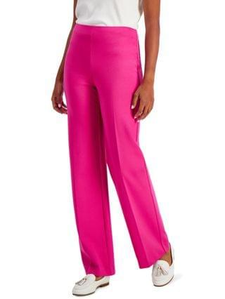 WOMEN Petite Pont -Knit Pull-On Pants, Created for Macy's