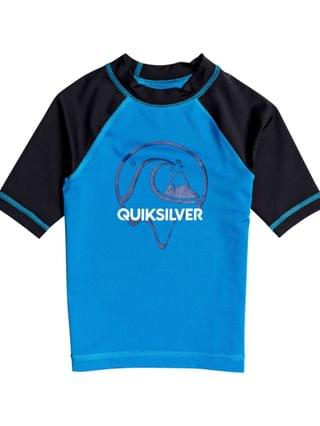 KIDS Quicksilver Little Boys Bubble Dreams Short Sleeve Rashguard