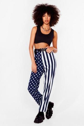 WOMEN Party in the USA High-Waisted Mom Jeans